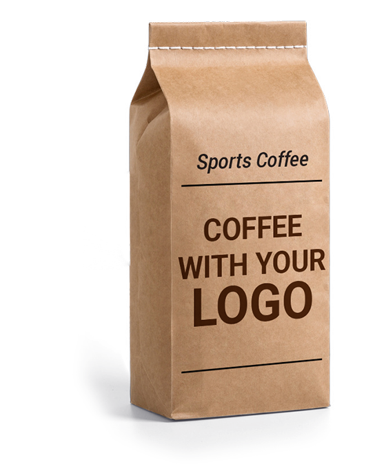Coffee with your logo